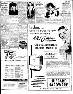 The Courier News from Blytheville, Arkansas on March 17, 1952 · Page 7
