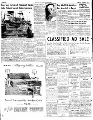 The Courier News from Blytheville, Arkansas on March 18, 1952 · Page 2