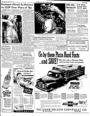 The Courier News from Blytheville, Arkansas on March 19, 1952 · Page 9
