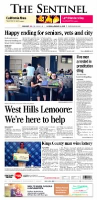The Sentinel from Hanford, California on August 11, 2018 · A1