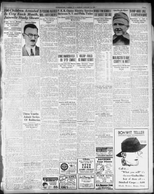 Courier-Post from Camden, New Jersey on January 16, 1933 · 3