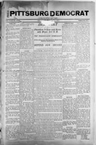 Sample Gunn Powder front page