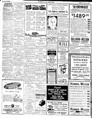 The Courier News from Blytheville, Arkansas on July 17, 1952 · Page 7