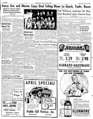 The Courier News from Blytheville, Arkansas on April 3, 1952 · Page 10