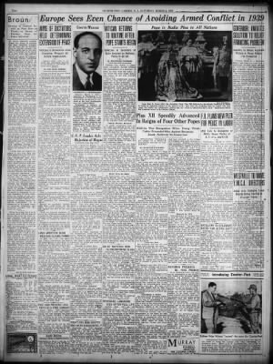 Courier-Post from Camden, New Jersey on March 4, 1939 · 2