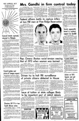 The Lowell Sun from Lowell, Massachusetts on June 27, 1975 · Page 3