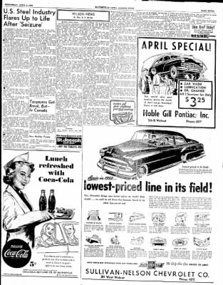 The Courier News from Blytheville, Arkansas on April 9, 1952 · Page 7