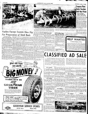The Courier News from Blytheville, Arkansas on April 10, 1952 · Page 6