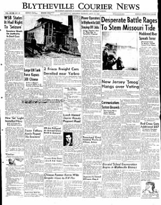 The Courier News from Blytheville, Arkansas on April 15, 1952 · Page 1