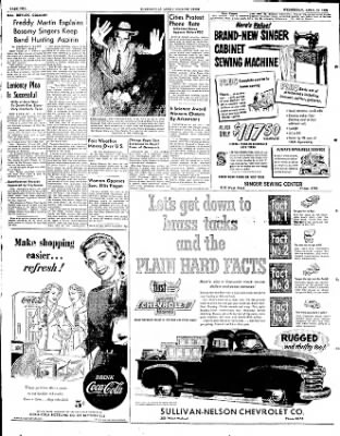 The Courier News from Blytheville, Arkansas on April 16, 1952 · Page 2