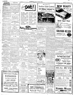 The Courier News from Blytheville, Arkansas on August 18, 1952 · Page 8