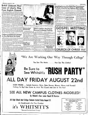 The Courier News from Blytheville, Arkansas on August 21, 1952 · Page 7