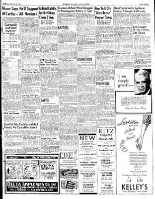 The Courier News from Blytheville, Arkansas on August 22, 1952 · Page 7