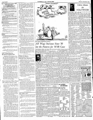 The Courier News from Blytheville, Arkansas on August 22, 1952 · Page 8