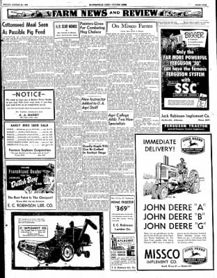 The Courier News from Blytheville, Arkansas on August 22, 1952 · Page 9