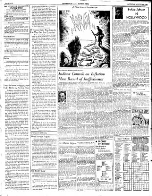 The Courier News from Blytheville, Arkansas on August 23, 1952 · Page 4
