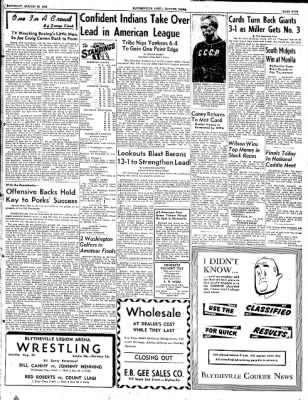 The Courier News from Blytheville, Arkansas on August 23, 1952 · Page 5