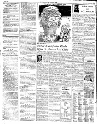 The Courier News from Blytheville, Arkansas on August 25, 1952 · Page 6