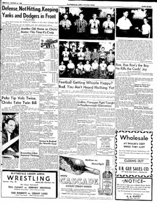 The Courier News from Blytheville, Arkansas on August 25, 1952 · Page 7