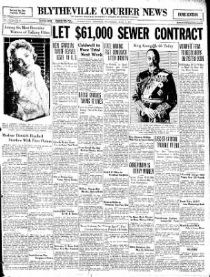 The Courier News from Blytheville, Arkansas on June 3, 1931 · Page 1