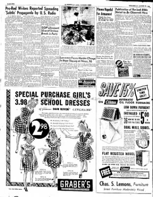 The Courier News from Blytheville, Arkansas on August 27, 1952 · Page 2