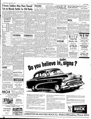 The Courier News from Blytheville, Arkansas on August 27, 1952 · Page 5