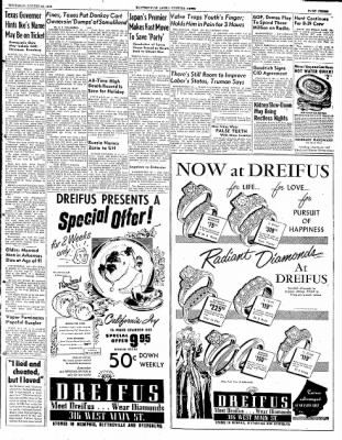 The Courier News from Blytheville, Arkansas on August 28, 1952 · Page 3