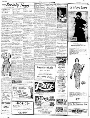 The Courier News from Blytheville, Arkansas on August 28, 1952 · Page 4