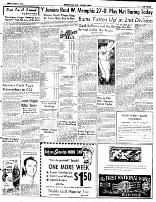 The Courier News from Blytheville, Arkansas on July 18, 1952 · Page 7