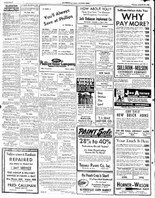 The Courier News from Blytheville, Arkansas on August 29, 1952 · Page 8