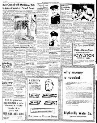The Courier News from Blytheville, Arkansas on September 1, 1952 · Page 2