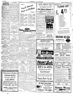 The Courier News from Blytheville, Arkansas on September 1, 1952 · Page 8