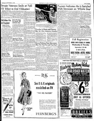 The Courier News from Blytheville, Arkansas on September 2, 1952 · Page 3