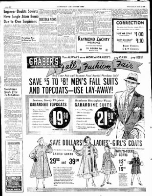 The Courier News from Blytheville, Arkansas on September 3, 1952 · Page 6