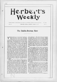 Sample Herber's Weekly front page