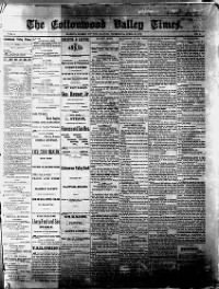 Sample Marion Headlight front page