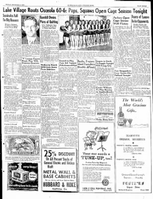 The Courier News from Blytheville, Arkansas on December 2, 1949 · Page 7