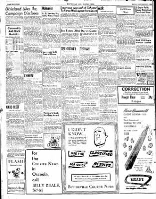 The Courier News from Blytheville, Arkansas on September 5, 1952 · Page 14