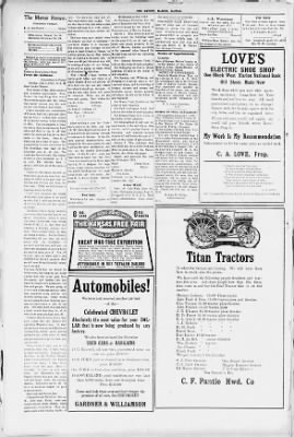 The Marion Review From Marion Kansas On August 15 1918 8