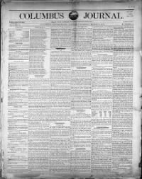 Sample Columbus Journal front page
