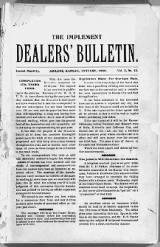 Implement Dealers' Bulletin