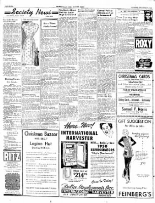 The Courier News from Blytheville, Arkansas on December 6, 1949 · Page 4