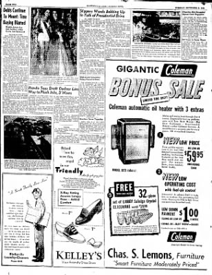 The Courier News from Blytheville, Arkansas on September 9, 1952 · Page 2