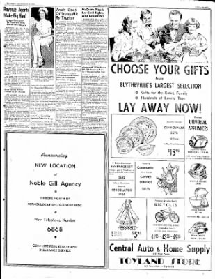 The Courier News from Blytheville, Arkansas on December 6, 1949 · Page 7