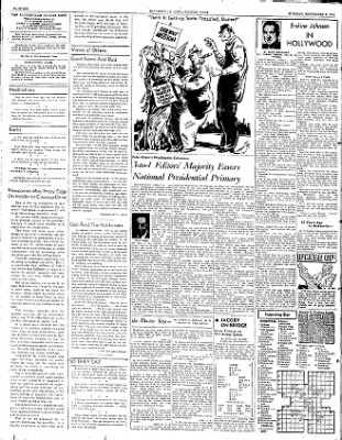 The Courier News from Blytheville, Arkansas on September 9, 1952 · Page 6