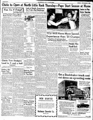 The Courier News from Blytheville, Arkansas on September 9, 1952 · Page 8