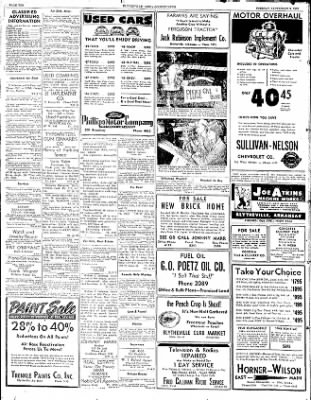 The Courier News from Blytheville, Arkansas on September 9, 1952 · Page 10