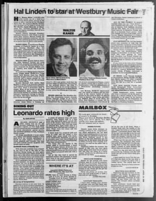 Daily News From New York New York On April 10 1980 576 Weinshall would make a pretty bulky chipmunk though as his shoulders are incredibly broad, presumably put to good use if chuck steps out of line. newspapers com