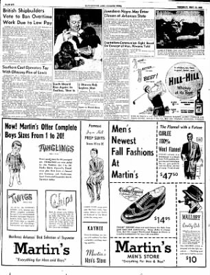 The Courier News from Blytheville, Arkansas on September 11, 1952 · Page 6