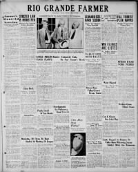 Sample Rio Grande Farmer front page